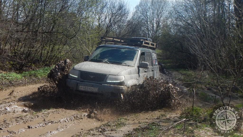 покатушки джипы грязь уаз