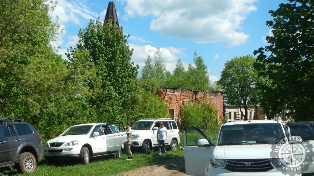 покатушки церкви руины